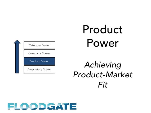Product Power Achieving Product-Market Fit Proprietary Power Product Power Company Power Category Power