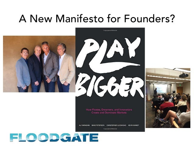 A New Manifesto for Founders?