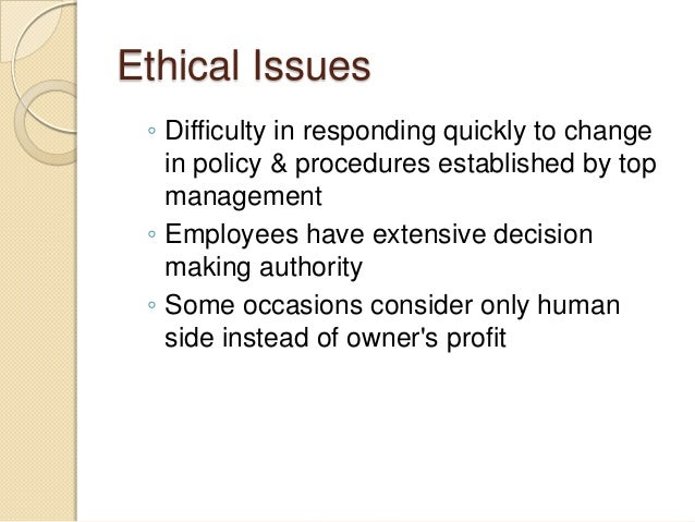 ethical dilemmas in organizational communication For issues as diverse as access to the organization's services, a particular employee's behavior, clinical prac-tices, and the allocation of limited resources the decisions made and an organizational ethics decision-making process.
