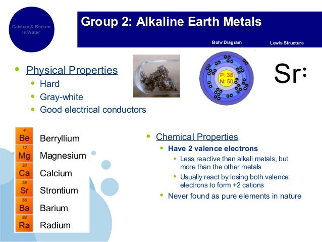 The periodic table 10 group 2 alkaline earth metals physical properties urtaz Images
