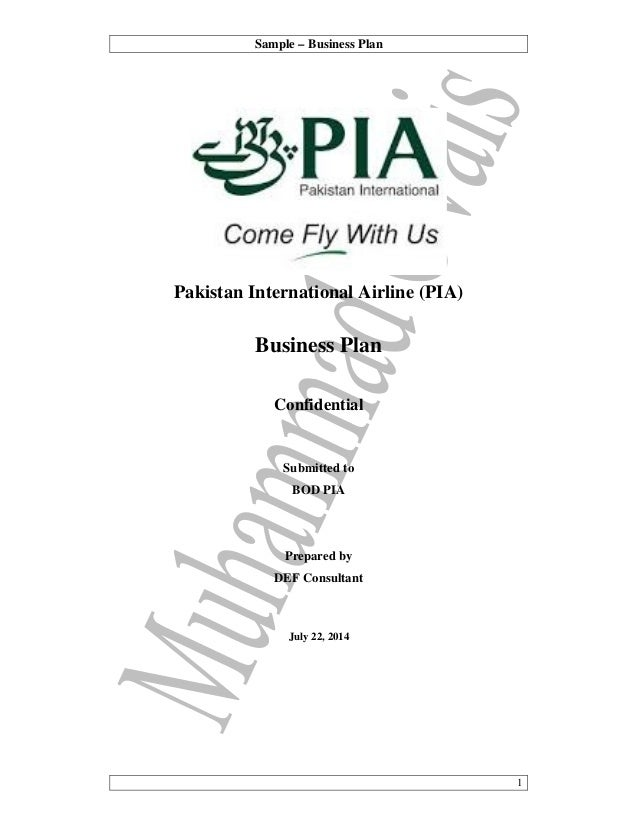 05 Practical Writing Sample Pia Business Plan