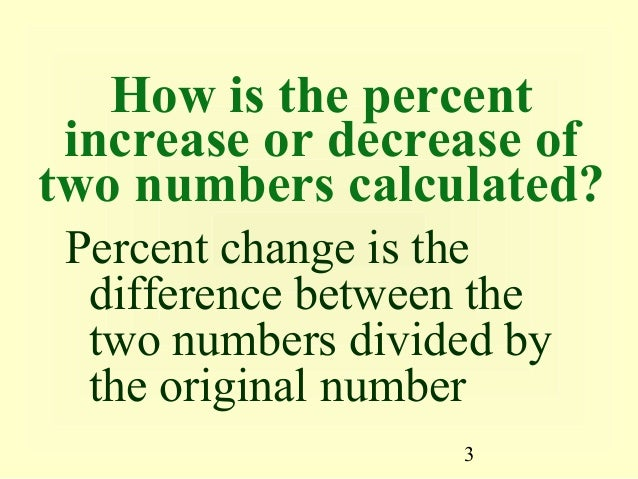 05 price elasticity of demand and supply how is the percent increase or decrease oftwo numbers calculated percent change is the difference between ccuart Choice Image
