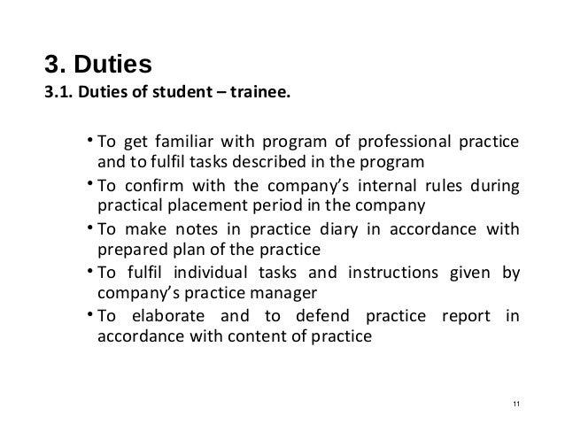 practice manager duties