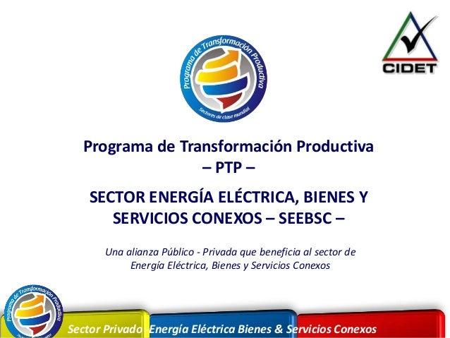 Sector Privado -Energía Eléctrica Bienes & Servicios ConexosSector Privado -Energía Eléctrica Bienes & Servicios Conexos P...