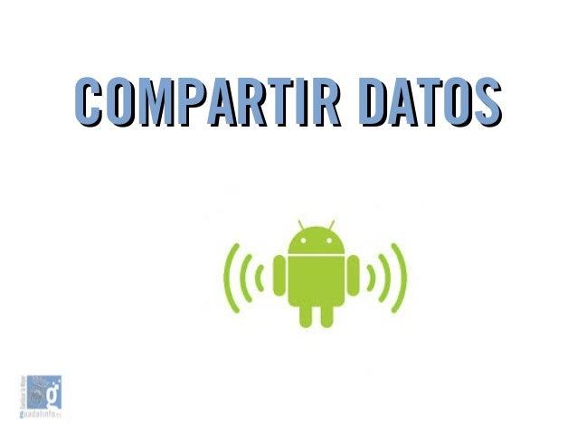 COMPARTIR DATOSCOMPARTIR DATOS