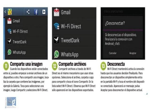 05 Sacale partido a tu android - Bluethoot y conexion wifi. compartir