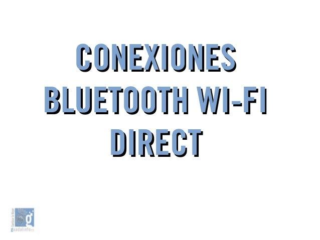 Transferir archivos BluetoothTransferir archivos Bluetooth