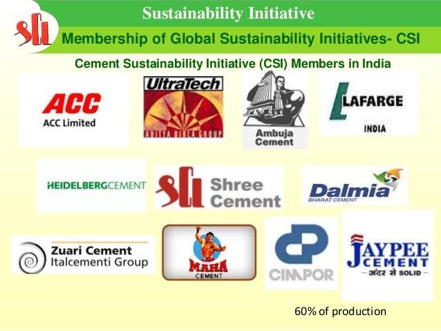 Sustainability In Cement Industry Rakesh Bhargava Chief