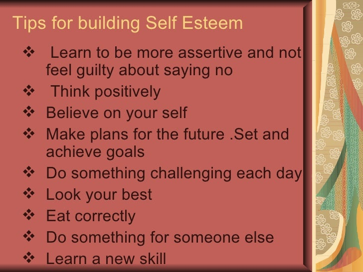 Who has contributed to your self esteem? Mrs.Najam-un-Nissa