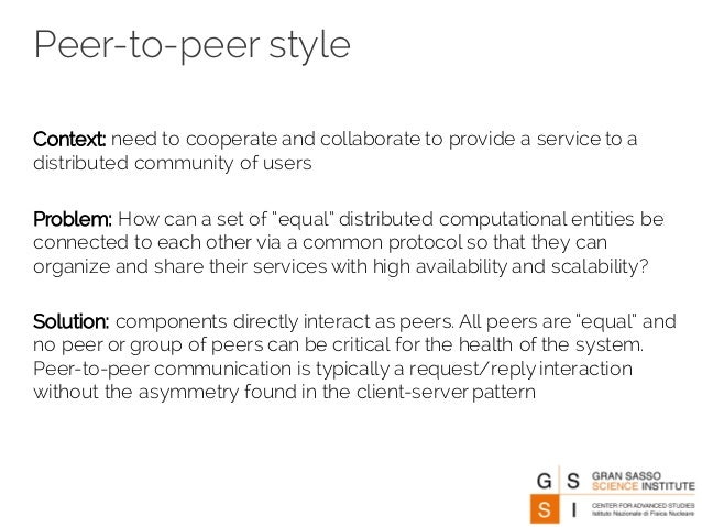 the advantages of napster and peer to peer communication Peer-to-peer file sharing system using an information dispersal algorithm  direct peer-to-peer communication  the rise and fall of the napster empire.