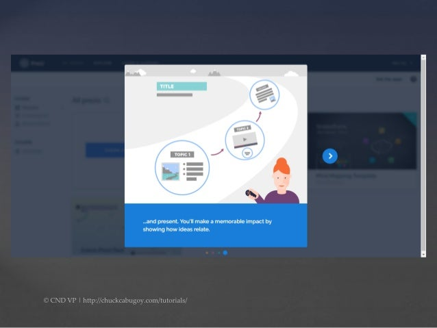 how to add text to prezi