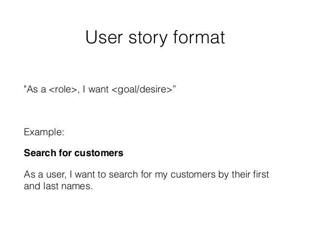 User stories in interaction design
