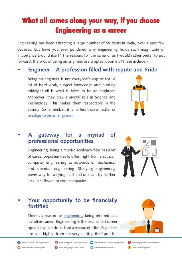 What all comes along your way, if you choose Engineering as