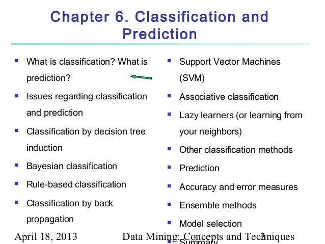 Data mining classification: basic concepts, decision trees, and.