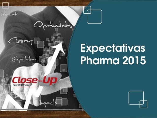 Expectativas  Pharma 2015
