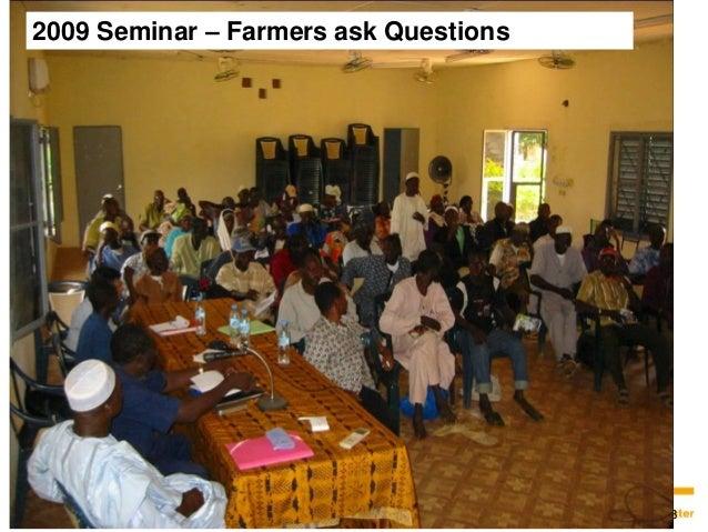 18  18  2009 Seminar – Farmers ask Questions
