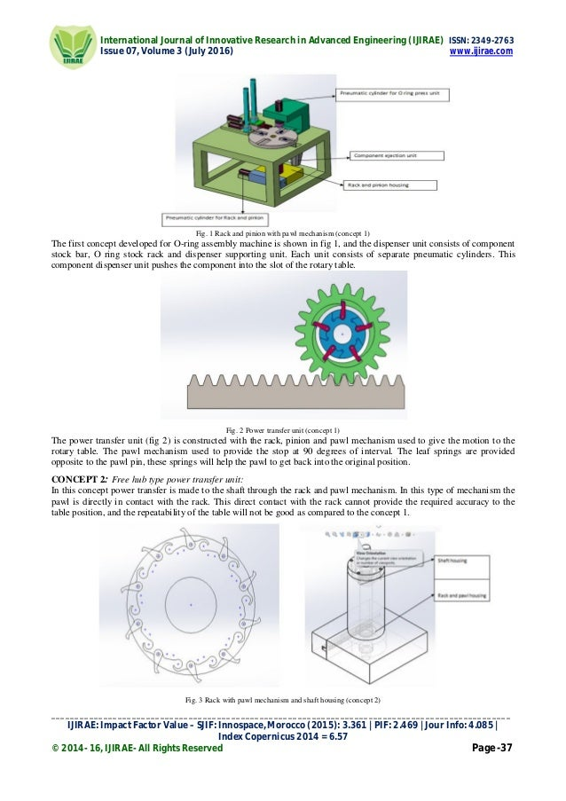 Concept Design and Analysis of Low Cost O-Ring Assembly Machine for A…