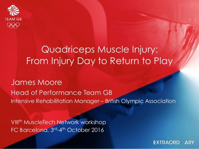 Quadriceps Muscle Injury:
