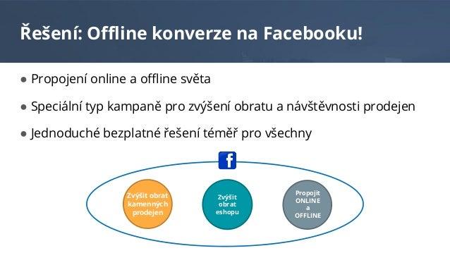 Offline konverze v prostředí Facebooku (Tomáš Havlík) Slide 3