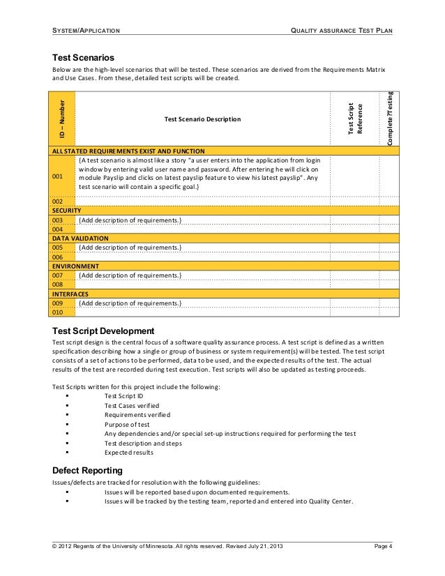 06 template test plan