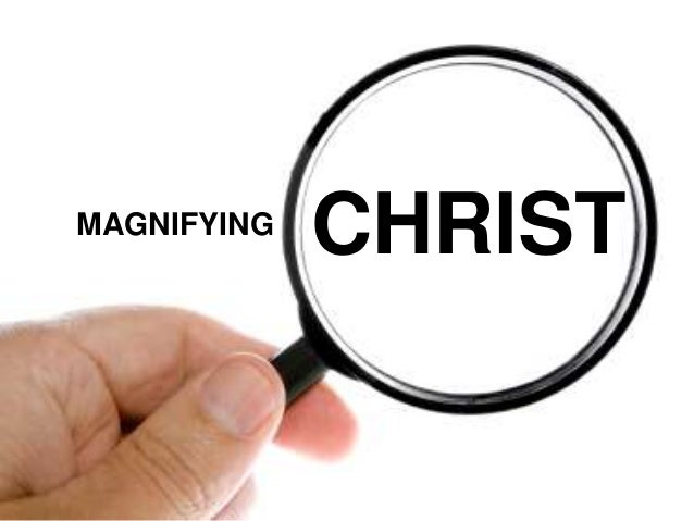 Through the Magnifying Lens of Holiness