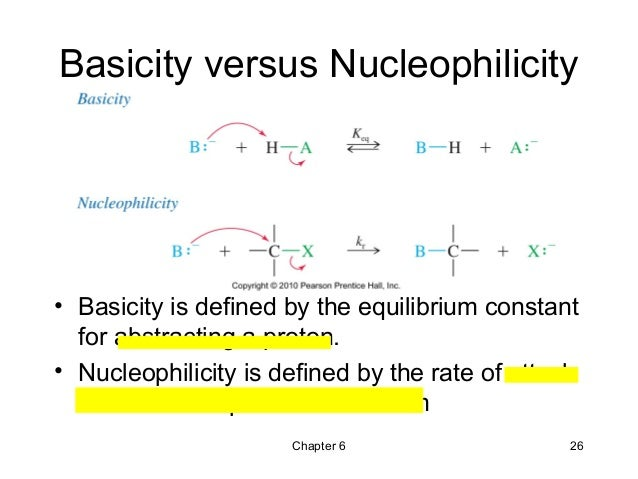 NUCLEOPHILICITY AND BASICITY DOWNLOAD