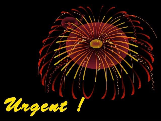 Urgent ! Diaporama PPS réalisé pour http://www.diaporamas-a-la-con.com