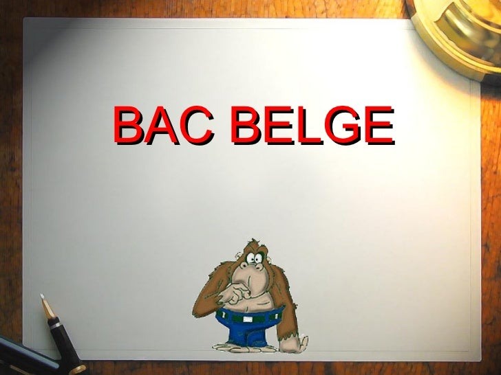 BAC BELGE