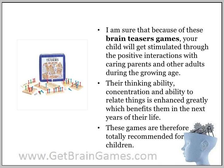 brain teasers games for kids. Black Bedroom Furniture Sets. Home Design Ideas