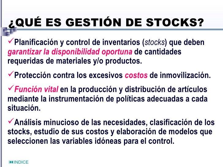 Que es una stock options