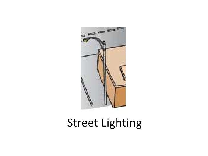 Street Lighting<br />