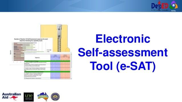 RCTQ Electronic Self-assessment Tool (e-SAT)