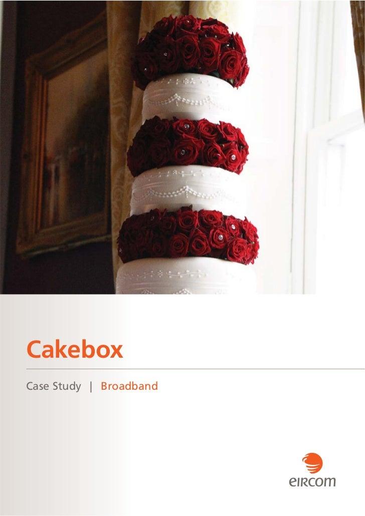 CakeboxCase Study | Broadband