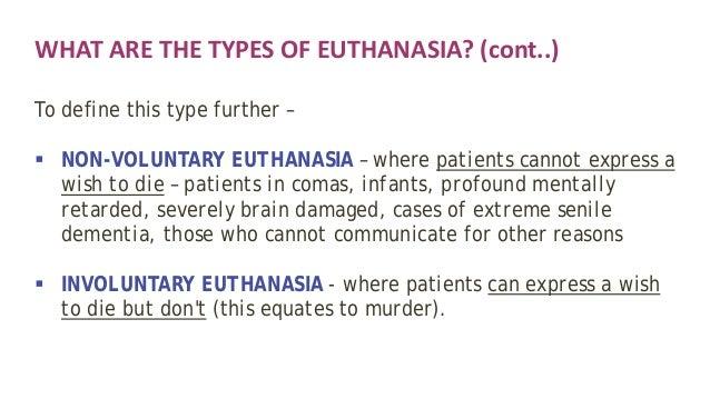 Involuntary euthanasia of defective newborns: a legal analysis.