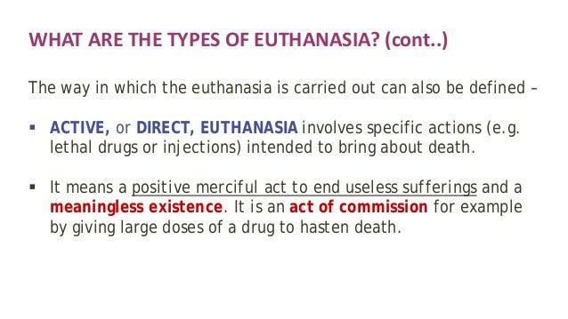 Voluntary euthanasia