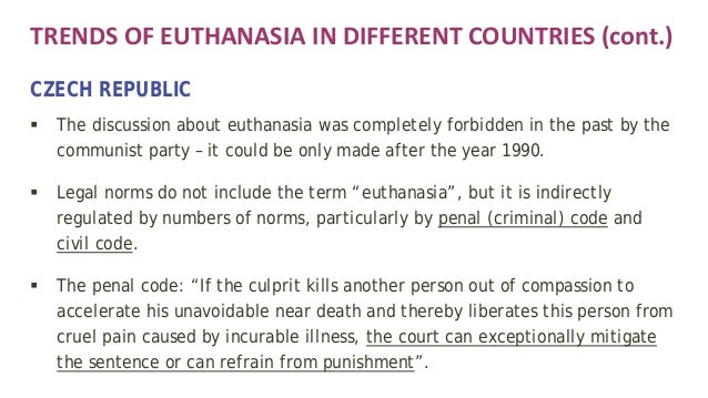 Euthanasia in australia arguments for and against