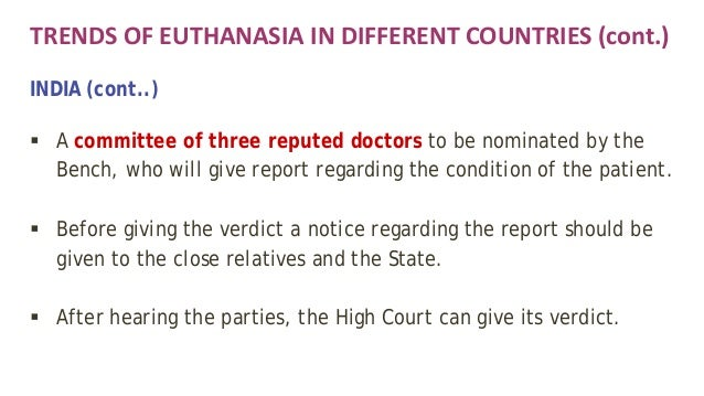 Euthanasia/ An Argument For Euthanasia term paper 15498