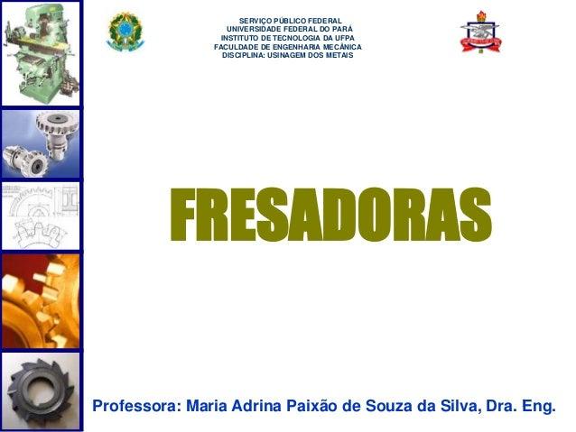 1  SERVIÇO PÚBLICO FEDERAL  UNIVERSIDADE FEDERAL DO PARÁ  INSTITUTO DE TECNOLOGIA DA UFPA  FACULDADE DE ENGENHARIA MECÂNIC...