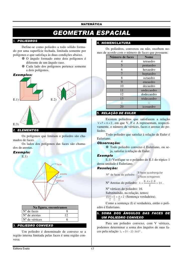 06 geometria espacial