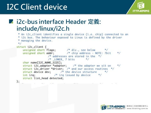 用Raspberry Pi 學Linux I2C Driver