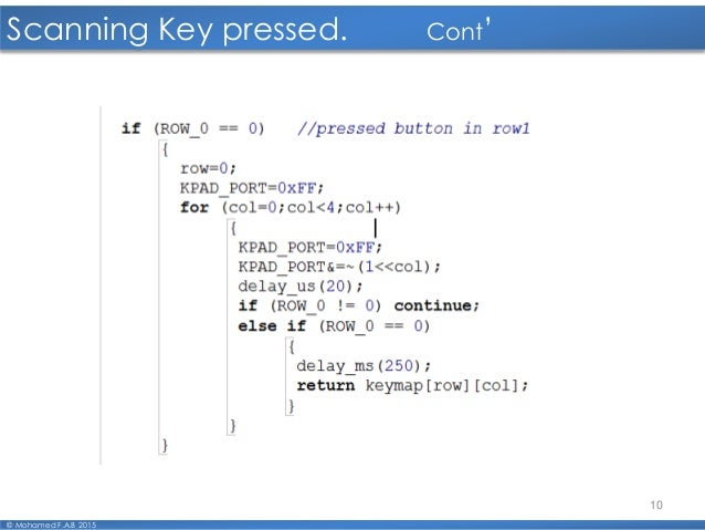 06 Interfacing Keypad 4x4 2016