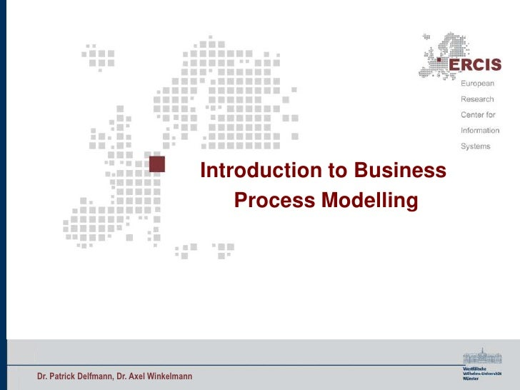Introductionto Business <br />Process Modelling<br />