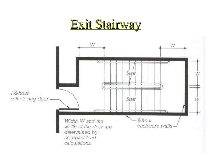 ... 12. Exit Stairway ...