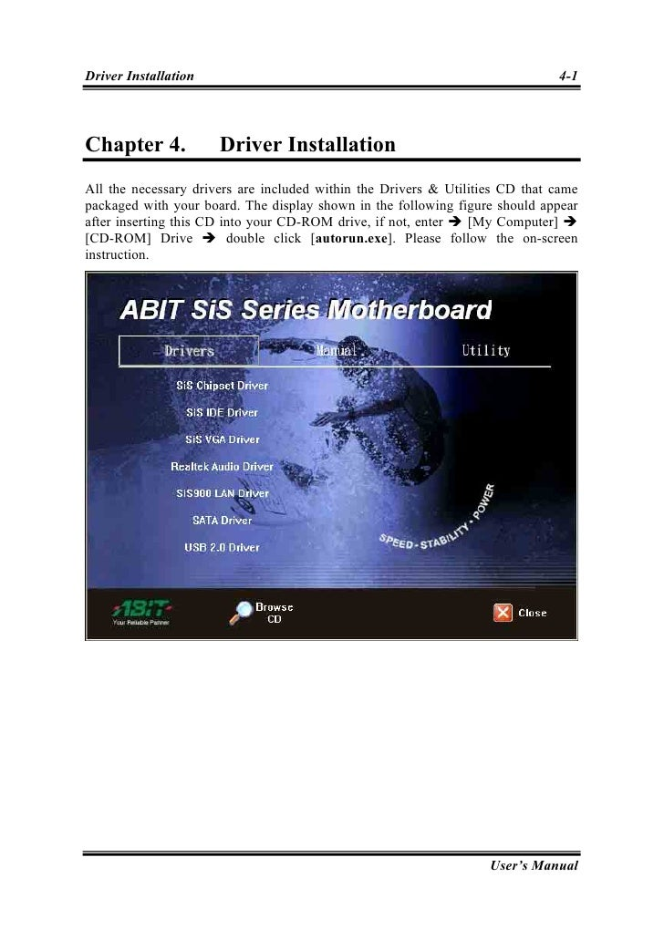 ABIT SG-80, SG-81 1.3 Drivers for PC