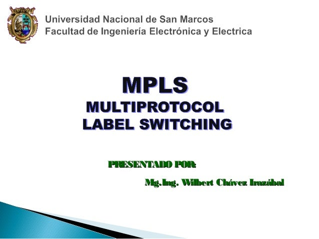 PR ESENTADO POR: Mg.Ing. W ilbert Chávez Irazábal