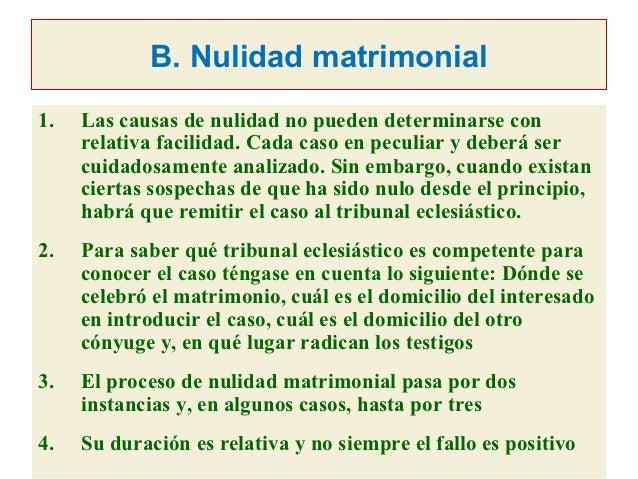 Nulidad Matrimonio Catolico Tribunal Eclesiastico : Problemática canónico pastoral previa a la celebración