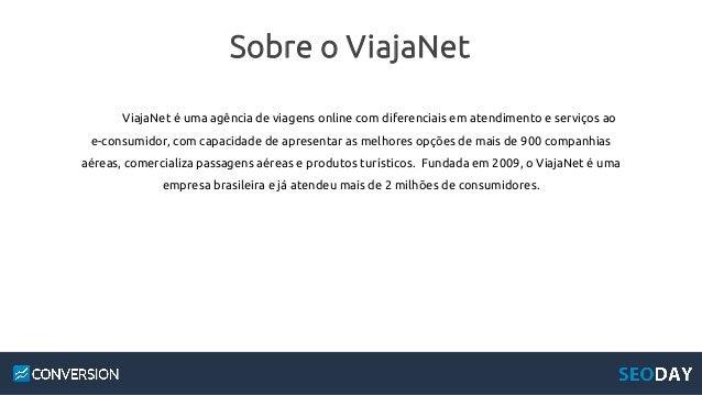 Como o ViajaNet aumentou suas vendas com SEO Slide 2