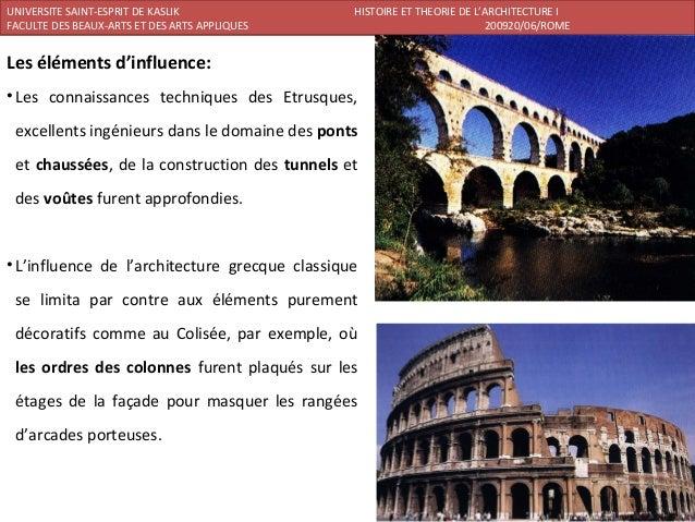 Rome histoire de l 39 architecture - L histoire de l architecture ...