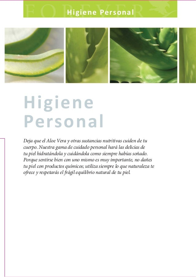 HigienePersonalDeja que el Aloe Vera y otras sustancias nutritivas cuiden de tucuerpo. Nuestra gama de cuidado personal ha...
