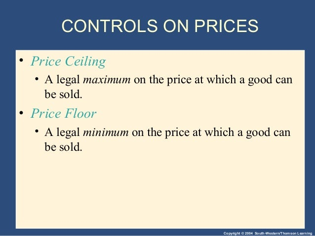 supply demand and gov policies Intro price ceiling rationing price floor taxation ration vs tax tax &ε subsidy ‹ econ 1023 principle of economics: micro chapter 6: supply, demand and.